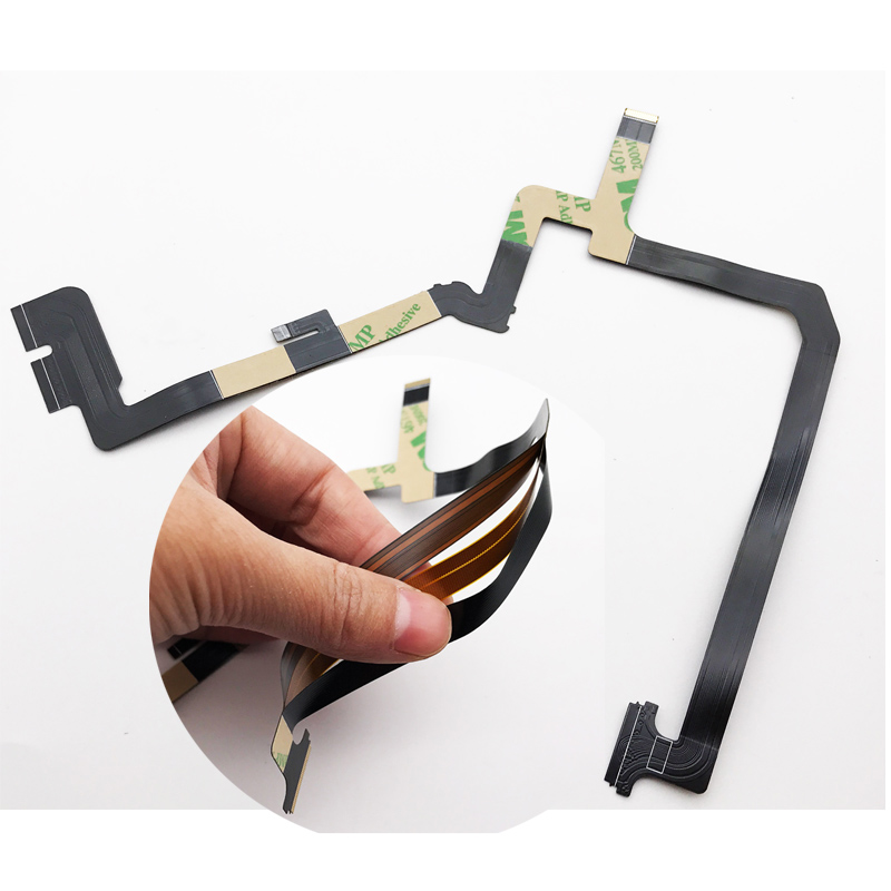 Image 2 - 10 Pcs/Lot,Three 3 Layer Floor May Flexible Gimbal Camera Flat Ribbon Flex Cable For DJI Phantom 4 Replacement Parts For DJI-in Mobile Phone Flex Cables from Cellphones & Telecommunications