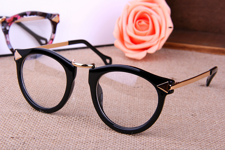 Big Frame Glasses Style : Free shipping! 2014 Most popular glasses Men/Women big ...