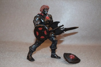Masters of the Universe MOTU Classics Anti Eternia Black Nemesis HE MAN Loose figure Collection