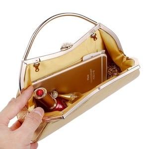Image 4 - SEKUSAออกแบบผสม 5 สีจับกระเป๋ารูปโซ่ไหล่Messengerกระเป๋าถือParty