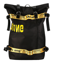 Hip-hop Style Street Trend Backpack Teenage Boy Personality Letter Student Unisex Fashion High Capacity Travel Bag D175