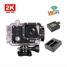 GitUP Git2 Wifi Sports Camera 2k Full HD with Sony IMX206 16MP Sensor + Extra 1pcs Battery + Battery Charger