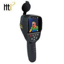 Hti Горячая ручной Термографическая камера инфракрасного Термальность камера цифровой Инфракрасный Тепловизор с 2,4 дюймов Цвет ЖК Дисплей