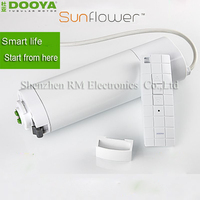2016 Hot Sale Original Dooya Home Automation Electric Curtain Motor KT320E 45W Dooya DC92 5 Channel