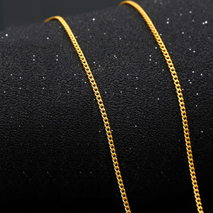 Image 3 - QA 24K Pure Gold Necklace Real AU 999 Solid Gold Chain Firm Nice Smooth Upscale Trendy Classic  Fine Jewelry Hot Sell New 2020