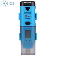 High Accuracy BSIDE BTH06 USB Temp Data Logger Temperature Record Temp Probe Outside Recorder The Data