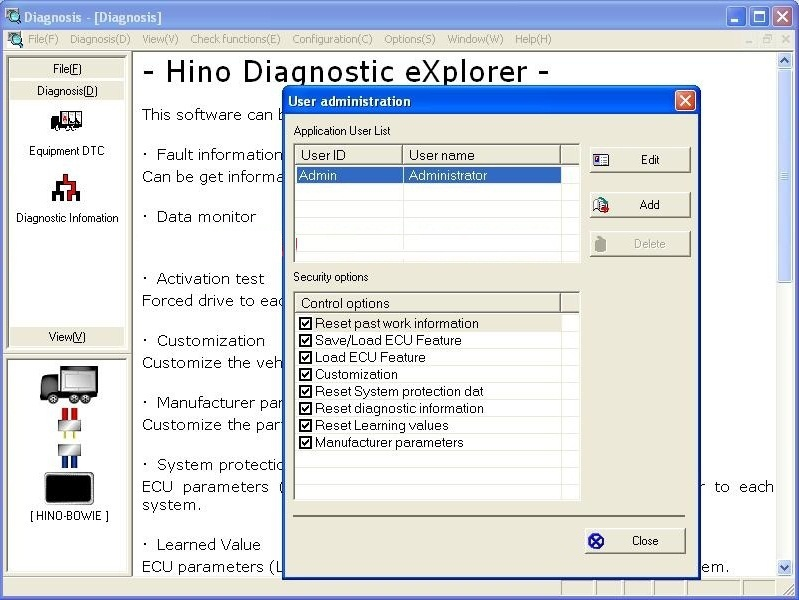 Hino Diagnostic eXplorer & Reprog Manager 3.1.2+Crack+PIN keygenHino Diagnostic eXplorer & Reprog Manager 3.1.2+Crack+PIN keygen