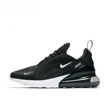 457e5381 Nike Air Max 270 мужские кроссовки Нескользящие, черный, амортизация  износостойкая дышащая одежда легкий AH8050