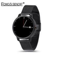 EDWO V360 Bluetooth Smart Watch Wristwatch Clock Sport Pedometer Fitness Sleep Tracking For iPhone Huawei Samsung
