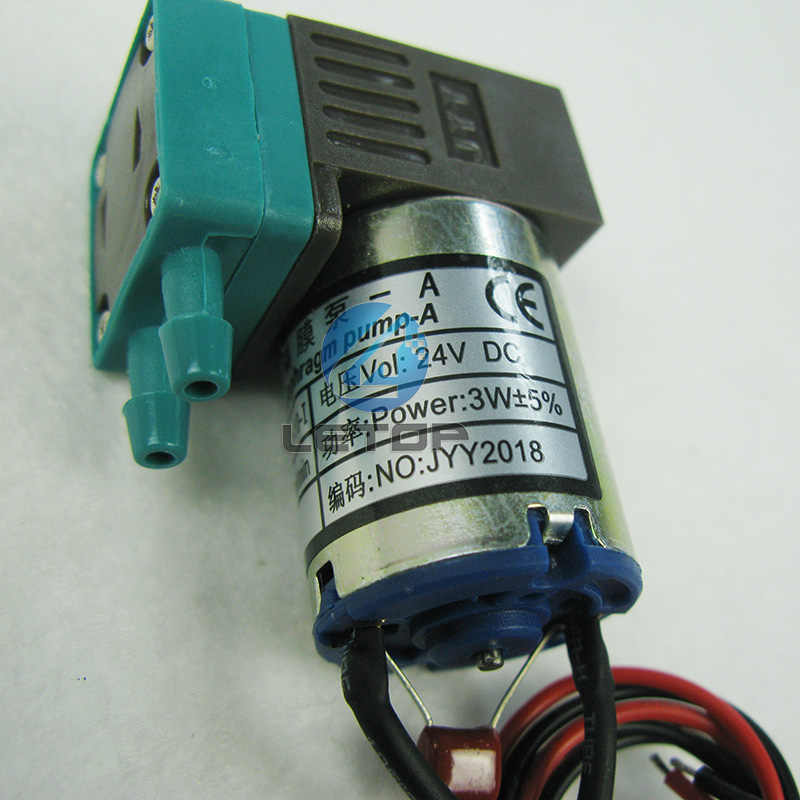 Gratis Pengiriman Inkjet Printer Suku Cadang Printer Pelarut Pompa 3W 24V DC Jyy 100 Ml-200 Ml kecil Jyy Ink Pump