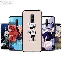 Naruto Kakash Anime Silicone Case for Oneplus 7 7Pro 5T 6 6T Black Soft Case for Oneplus 7 7 Pro TPU Phone Cover