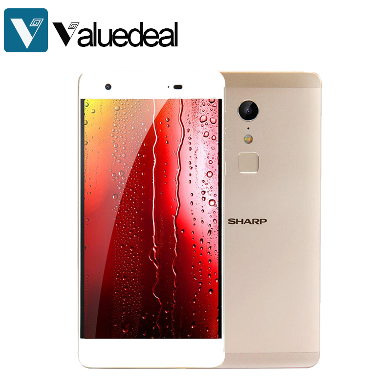 SHARP Z2 FS8002 5.5 Inch 4G LTE Smartphone FHD Screen 4GB 32GB 16.0MP Cam Helio X20 Deca Core Android 6.0 Touch ID Metal Unibody