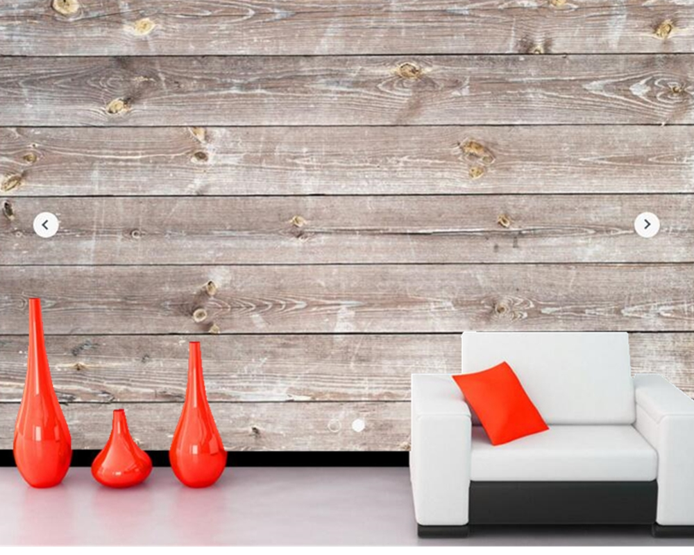 Slaapkamer Hout Behang : Custom textuur behang coastal verweerde hout muurschildering voor