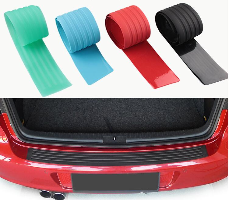 Car-Styling Car Trunk Rubber Bumpe For Toyota Camry Corolla RAV4 Yaris Highlander/Land Cruiser/PRADO Vios Vitz/Reiz Accessories наклейки digiface toyota hilux vitz rav4 camry prius