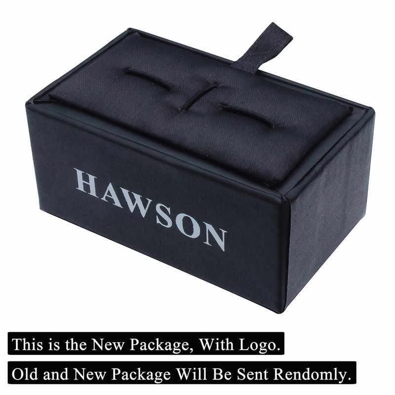 HAWSON אלגנטי לבן אמא של פרל אבן עניבת קליפ יוקרה חתונה עניבת בר פין לגברים