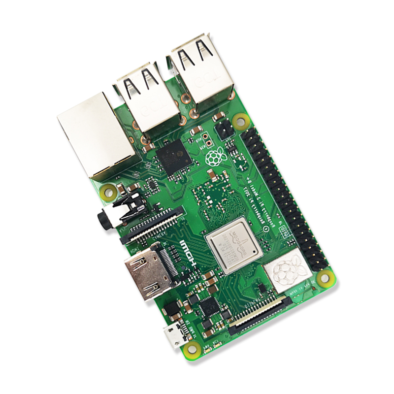 D'origine Element14 Framboise Pi 3 Modèle B/B + Plus BCM2837 1.2G framboise pi 3 avec 2.4G et 5G WIFI 4.2 Bluetooth et PoE - 3