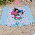 2015 новый детский мультфильм трусики дети белье комфортно бамбукового волокна девушки cuecas боксеров 10 шт. лот 3 - 16 года