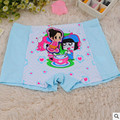 2015 nova crianças dos desenhos animados calcinhas crianças cueca de fibra de bambu meninas cuecas boxers 10 pcs 3 - 16 ano de idade