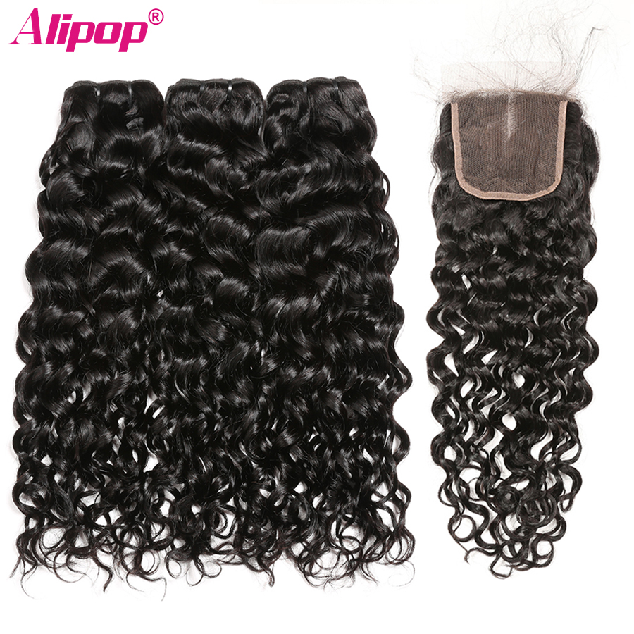 Dedicated Afro Kinky Curly Hair With Closure Brazilian Remy Hair Human Hair Bundles With Closure 3 Bundles With Closure Alipop 9a Bundles 3/4 Bundles With Closure Human Hair Weaves
