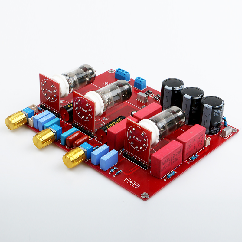 2017 NEW 6N1 <font><b>Tube</b></font> Tone Board Preamplifier Completed <font><b>Amplifier</b></font> Board image