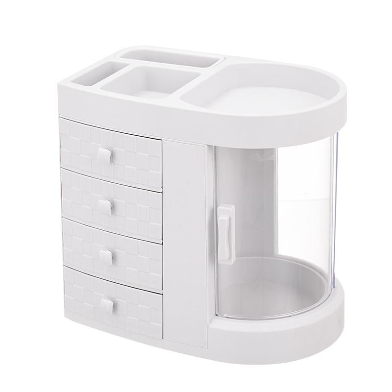 Boîte de rangement cosmétique bureau grande capacité tiroir intégré produits de soins de la peau rouge à lèvres boîte de rangement WF6171043