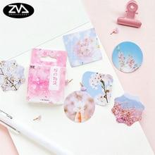 45 Pcs/box Creative Sakuras tale mini Paper Decoration DIY Scrapbook Notebook Album seal Sticker Stationery Kawaii Stickers