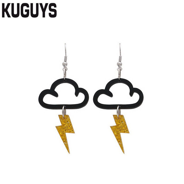 KUGUYS Jewelry Sets Acrylic...