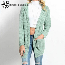 Long Sleeved Cardigan Sweater