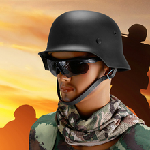 Купить German M35 Helmet Steel Helmet Black Green Grey Tactical Airsoft Helmet Military Special Force Safety Military M35 PK m38 helmet в интернет-магазине дешево