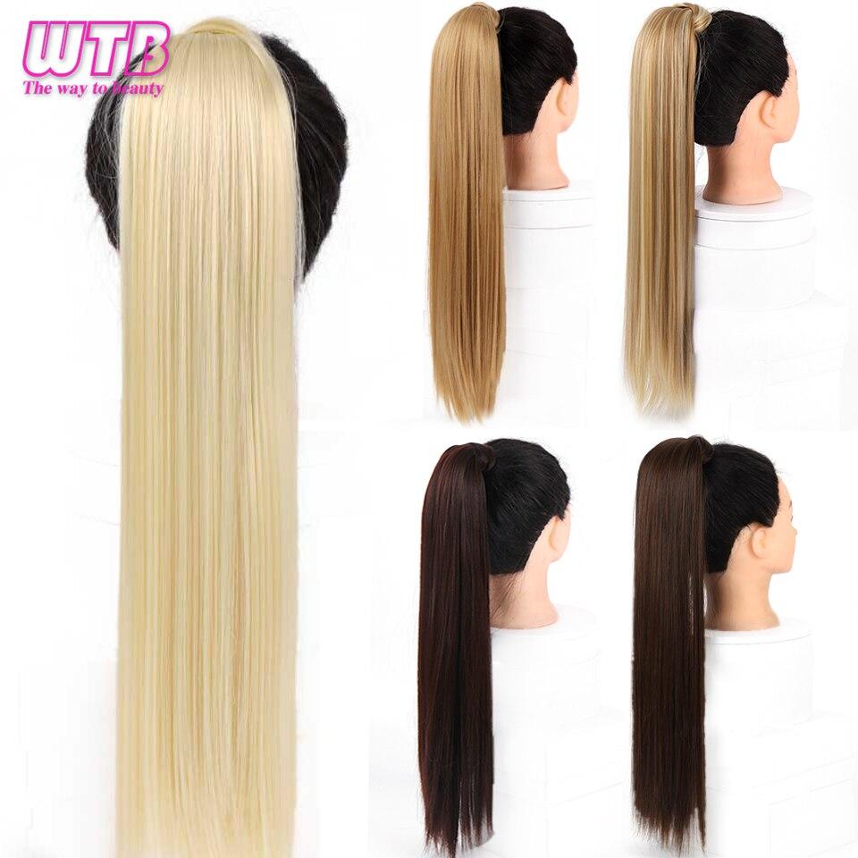 de cavalo extensões de cabelo natural preto