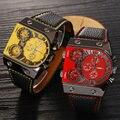 Original OULM Marca Militar Relógios Japão Movimento de Quartzo Esportes relógios dos homens Relógios de Pulso Masculino Relogios Masculino