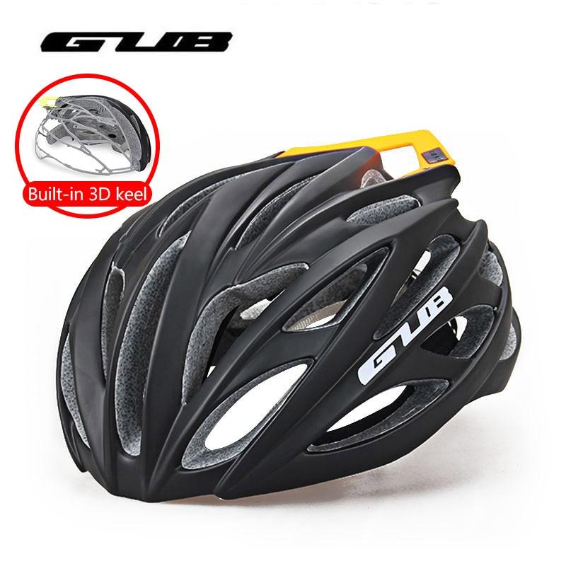 купить Hot GUB Hight Quality MTB Road Bike Cycling Helmet 26 Vents Breathable Integrally-molded Bicycle Helmet Ultralight Safety Helmet по цене 4234.88 рублей