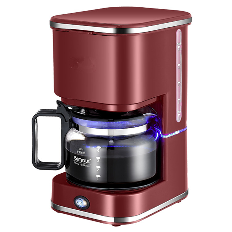 Americano Cafe maker household automatic drip commercial tea coffee making machine coffee grinding machine dmwd american automatic drip coffee maker teapot tea boiler mini household electric pump pressure cafe coffee machine eu us plug