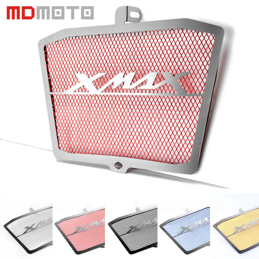 For Yamaha Xmax 300 250 400 2018 2017 Motorcycle Accessories Radiator Guard Grille Protector Grill Motorbike PartsFor Yamaha Xmax 300 250 400 2018 2017 Motorcycle Accessories Radiator Guard Grille Protector Grill Motorbike Parts