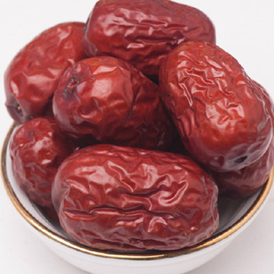 Xinjiang specialty dried red dates and Tian Yuzao four red dates 250g disposable jujube snack free delivery(China (Mainland))