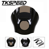 ABS Fairing Kit Black For 1988 later Sportster XL 883 1200 86 94 FXR 95 05 Dyna models Fat Bob Super Glide