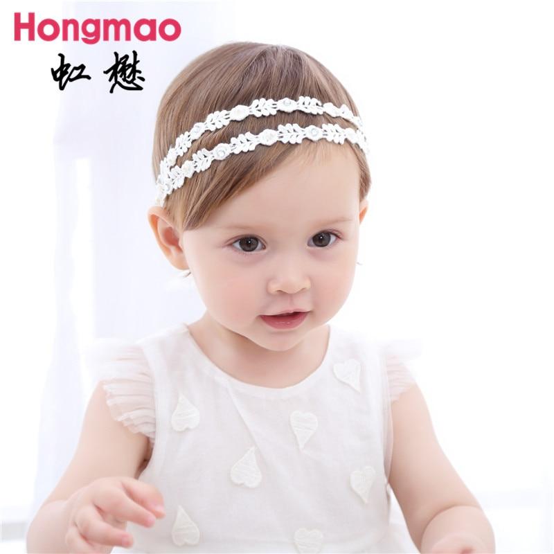 ON SALE 1PCS Childrens hair accessories baby double Babysbreath headband princess elastic hair band photo props head band
