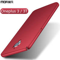 Oneplus 3 Case Oneplus 3 3T Case Cover Mofi Ultra Thin Slim Funda Black Blue Red