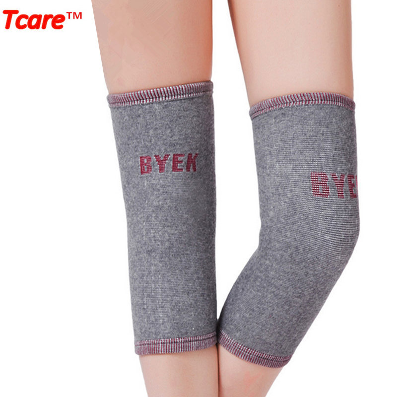 Tcare Elastic Warm Knee Support Knee Brace Health Care Far Infrared Magnetic Therapy Joint Massage Kneepads Knees Braces