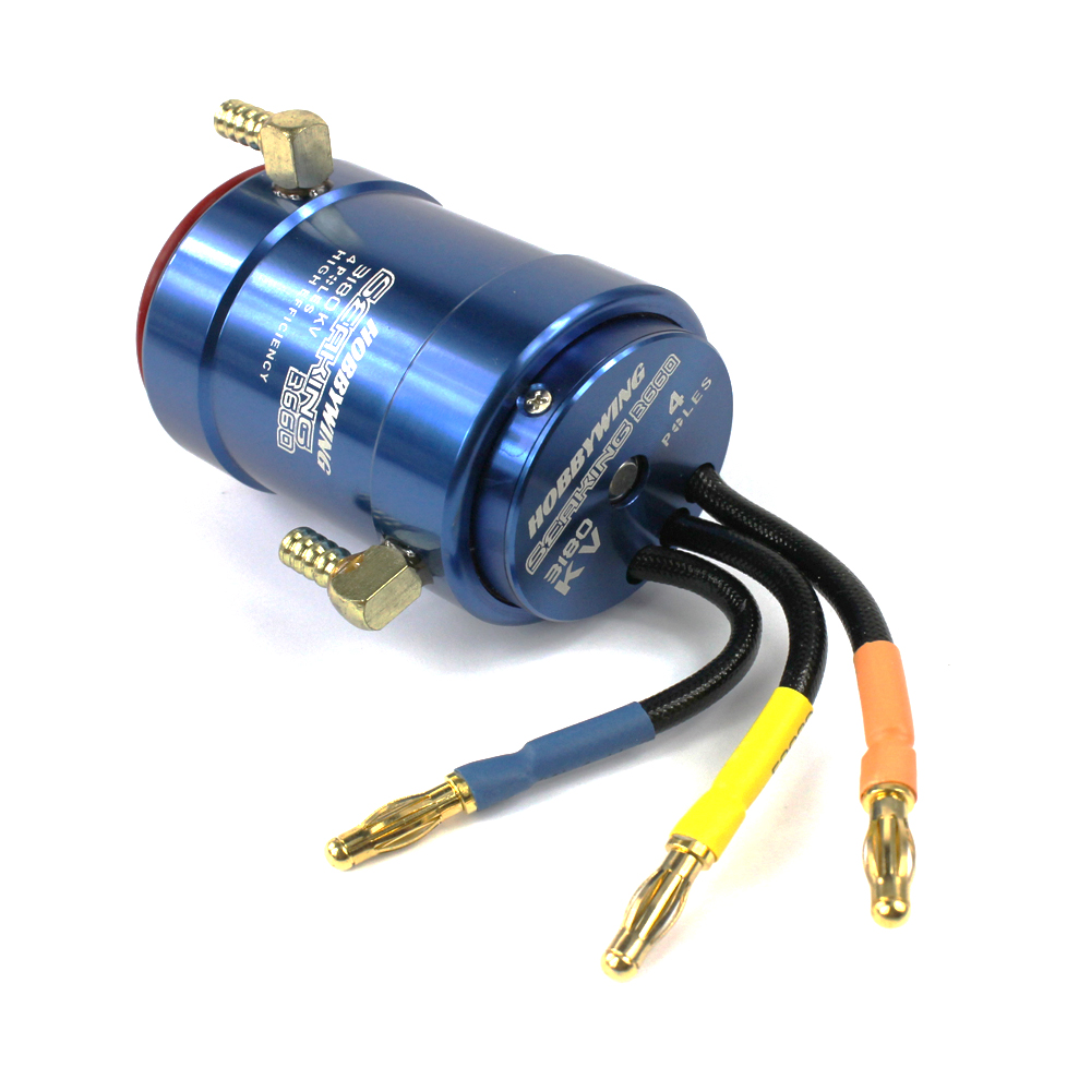 F18586/8 Hobbywing 2040SL 4800KV /2848SL 3900KV /3660SL 3180KV  Brushless Motor W/Water-cooling for RC Boat aluminum water cool flange fits 26 29cc qj zenoah rcmk cy gas engine for rc boat