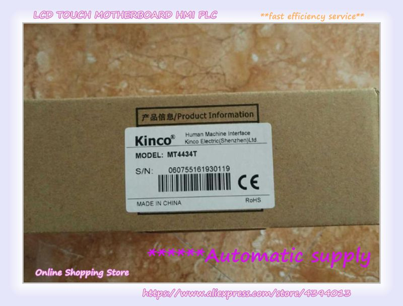 KINCO MT4434T 7 inch TFT 800*480 1 USB Host HMI New Original in box in stock kinco mt5520t 10 4 tft hmi have in stock fast shipping