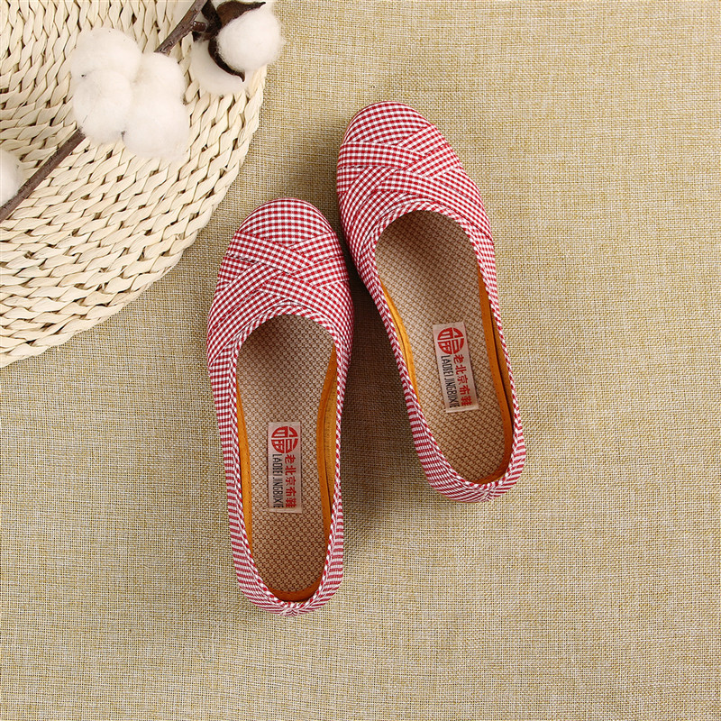 Spring Summer Ladies Shoes Ballet Flats Women Flat Shoes Woman Ballerinas Black Large Size  Casual Shoe Sapato Womens Hemp