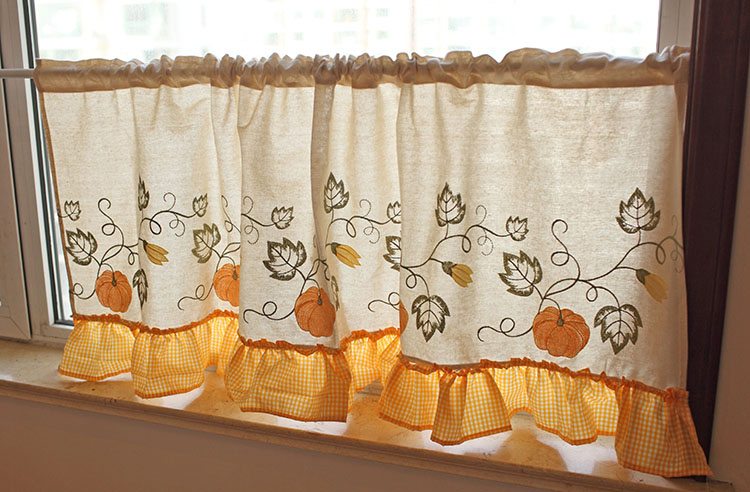 curtain print Picture - More Detailed Picture about Free shipping ...