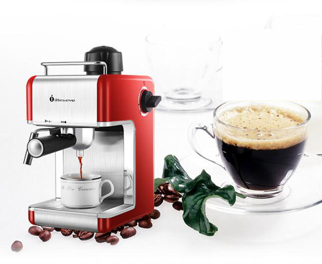 220V Semi Automatic Boiling Coffee Maker Espresso Coffee Machine Stainless Steel Steam Froth Milk Foam Coffee Machine 220v 15bar coffee maker semi automatic espresso coffee machine rich milk bubble steam frother foam coffee boiling machine