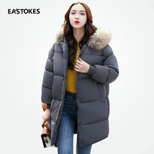 Women Winter Coats With Large Fur Collar Loose Style Ladies Hooded Jackets Thick Outerwears For Female Winter Outfits