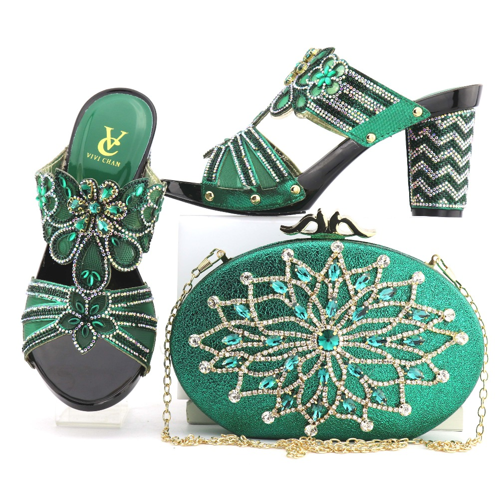 HMS0047 fashion high quality hand made design shoes and bag matching set nice newest free shipping clutches bag and shoes set fashion girls pet hand bag brooch set