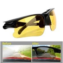 где купить Drivers Night Vision Goggles anti-glare Night-Vision Driving Glasses Protective Sunglasses Interior Accessories по лучшей цене