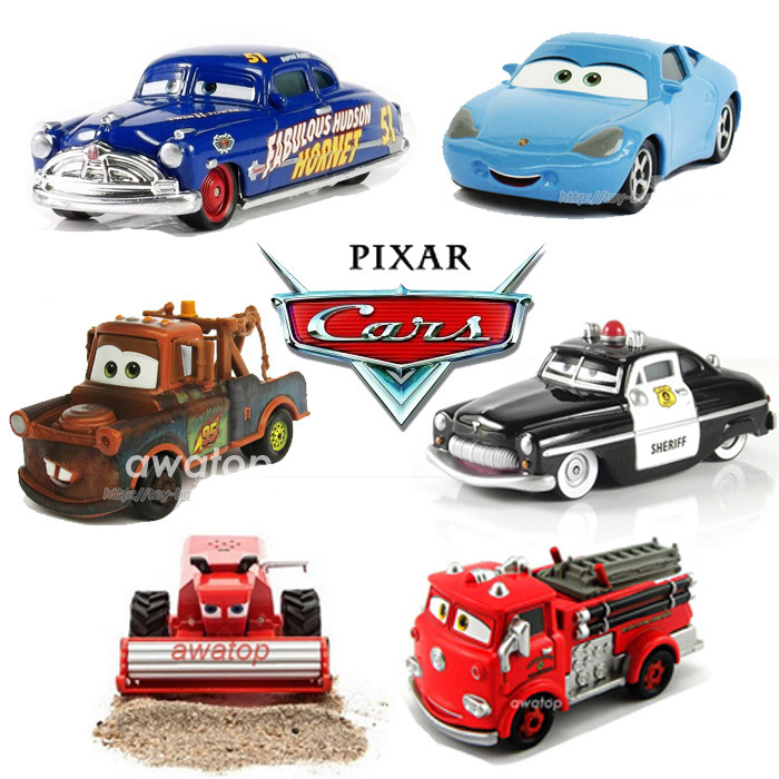 Cars 1 And 2 Toys : Pixar movie cars metal diecast toy car kids toys