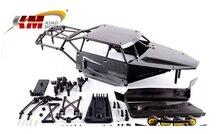 KM Roll Cage with Body shell for 1:5 BAJA 5B 5T 5SC DARK GRAY HPI ROVAN KM NIB black color