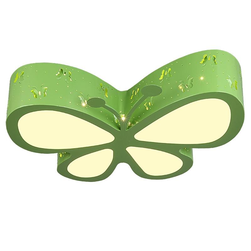 Weihnachtsbeleuchtung Wohnzimmer.Us 132 99 5 Off Neue Moderne Schmetterling Deckenleuchte Kinder Schlafzimmer Unterputz Licht Schöne Junge Mädchen Wohnzimmer Cartoon